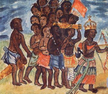 Queen Nzinga of the Kingdom of Kongo
