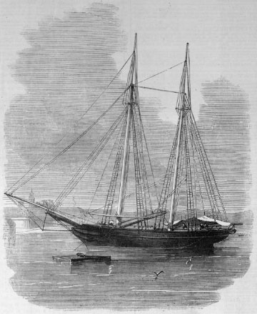 """The Slave-schooner at Port Royal"""