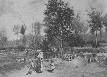 <i>Negro cemetery at Wilmington</i>