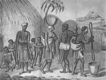 Slave yard at Gorée