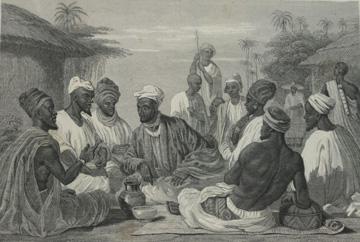 Nigerian dignitaries, 1841