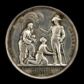 <i>Bolivar Freeing the Slaves Statue Inauguration</i>
