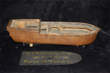 Model of a Liverpool slave ship
