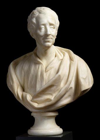 Bust of Montesquieu