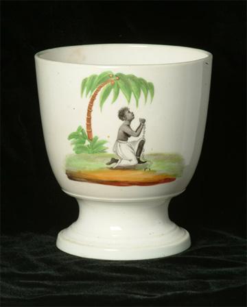 Abolition campaign sugar bowl