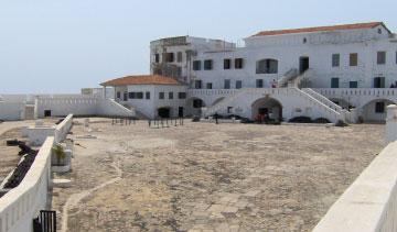 Courtyard of the Cape Coast Castle
