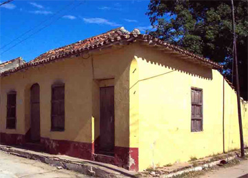 Home of the town council Santa Bárbara, Historic Trinidad