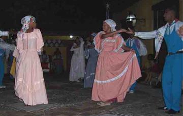 Dance of partners, La Pompadour, Guantánamo, Cuba