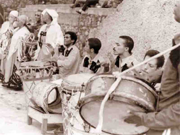 Instrumental group, La Caridad de Oriente, Santiago de Cuba