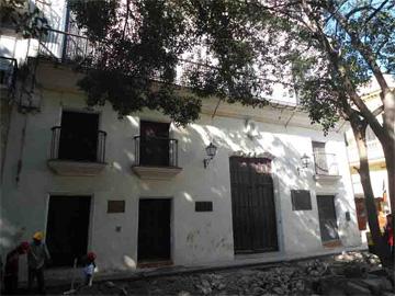House where Humboldt resided in Havana, Cuba