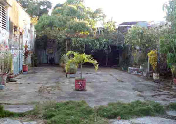 Main patio of the house-temple and space for the rumba, Cienfuegos, Cuba