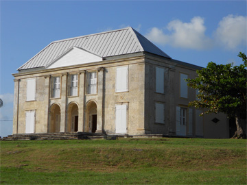 "The ""Big House"" of Murat Plantation, Guadeloupe"