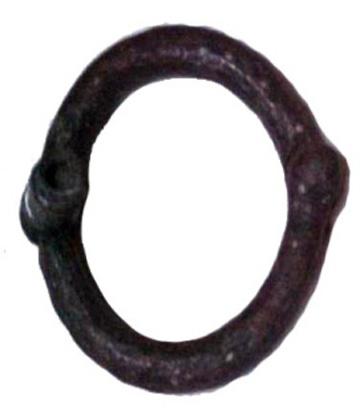 Iron hand shackle